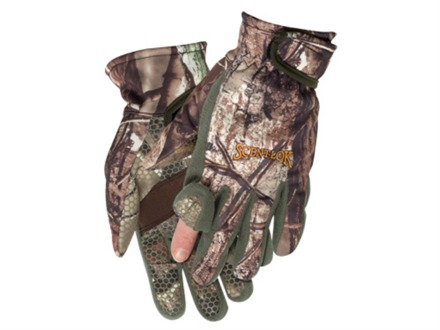 Scent-Lok Bowhunter&#39;s Release Gloves Polyester