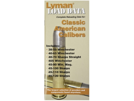 Lyman Load Data Book Classic Rifle