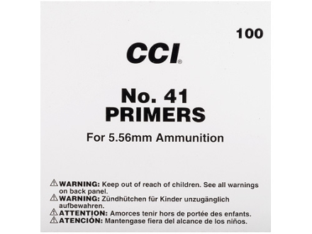 CCI Small Rifle Military Primers #41 Case of 5000 (5 Boxes of 1000)