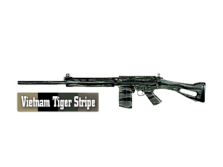 Lauer Vietnam Tiger Stripe Camo Template Only