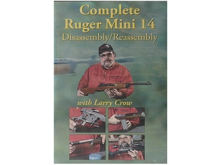 "Competitive Edge Gunworks Video ""Complete Ruger Mini 14: Disassembly & Reassembly"" DVD"