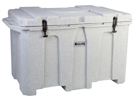 Grizzly 400 Qt Cooler Polyethylene Granite