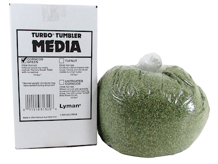 Lyman Turbo Brass Cleaning Media Treated Corn Cob 10 lb Box