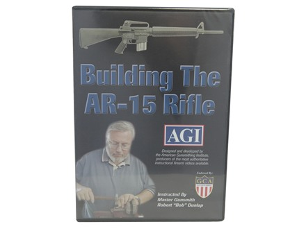 American Gunsmithing Institute (AGI) Video &quot;How to Build an AR-15 from a Parts Kit&quot; DVD