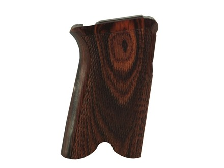 Hogue Fancy Hardwood Grips Ruger P85, P89, P90, P91 Checkered Cocobolo