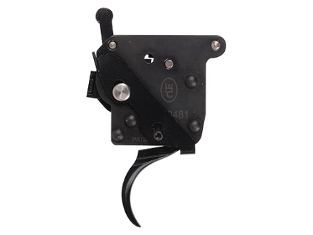 Huber Concepts Tactical 3.5# Rifle Trigger Remington 700 with Left Hand Safety 2-1/2 lb to 3 lb Two Stage Black
