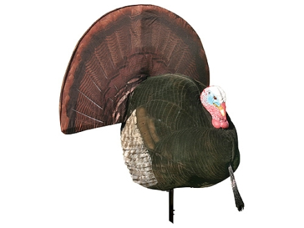 Flambeau Master Series Flocked King Strut Turkey Decoy Polymer
