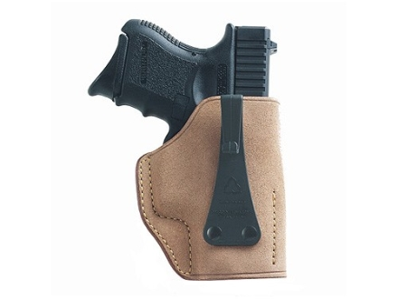 Galco Ultimate Second Amendment Inside the Waistband Holster Left Hand Glock 26, 27, 33 Leather Tan