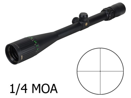 Bushnell Elite 4200 Rifle Scope 6-24x 40mm Adjustable Objective 1/4 MOA Dot Reticle Matte