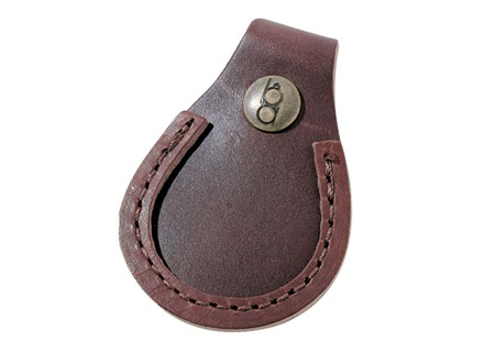 Bob Allen Shooter's Gun Toe Pad Leather Brown