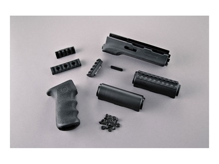 Hogue 2-Piece OverMolded Grip and Handguard AK-47, AK-74 Stamped Receivers Rubber