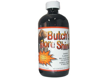 Butch&#39;s Bore Shine Bore Cleaning Solvent 4 oz Liquid