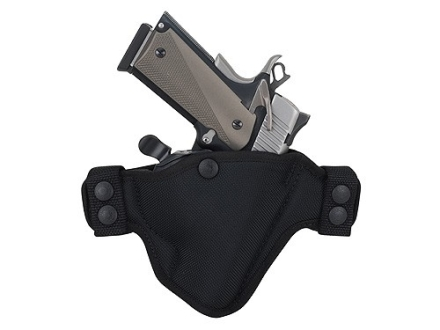 Bianchi 4584 Evader Belt Holster Right Hand Springfield XD 9mm Luger, 40 S&W Nylon Black