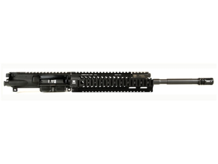 "Adams Arms AR-15 A3 Tactical Elite Carbine Gas Piston Upper Assembly 5.56x45mm NATO 1 in 7"" Twist 16"" Barrel Melonite Finish with 10"" Extended Free Float Quad Rail Handguard, Flash Hider"