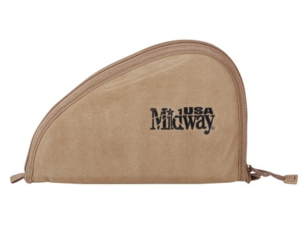 MidwayUSA Pistol Case Suede