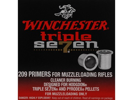 Winchester Triple Seven Primers #209 Muzzleloading 