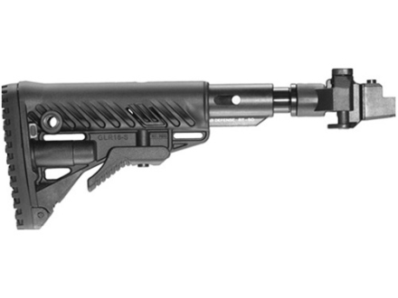 Mako Recoil Reducing Folding Collapsible GL-Shock Buttstock Assembly Metal Joint AK-47, AK-74 Polymer