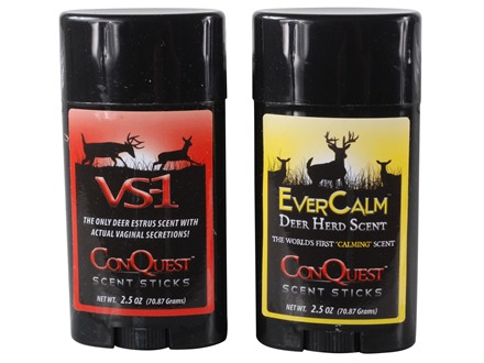 ConQuest Hunter's Pack Deer Scent Sticks 2.5 oz Pack of 2