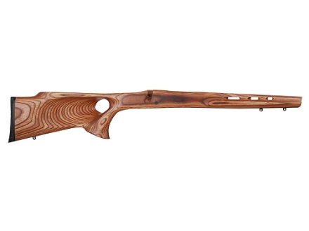 Boyds' Ross Featherweight Thumbhole Rifle Stock Winchester 70 Short Action Factory Barrel Channel Laminated Wood Brown Drop-In