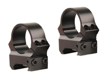 "Leupold 1"" PRW (Permanent Weaver-Style) Rings Gloss Medium"