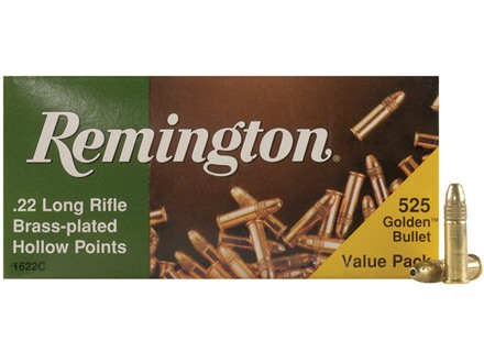 Remington Ammunition 22 Long Rifle 36 Grain Plated Lead Hollow Point