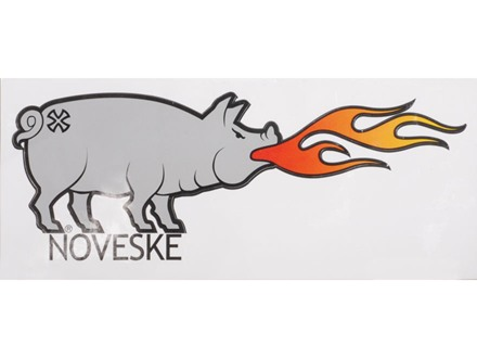 Noveske Pig Decal Vinyl