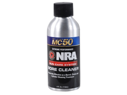 NRA Licensed Gun Care By Mil-Comm MC50 Bore Cleaner 4 oz Bottle