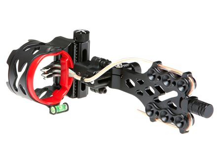 "Archer Xtreme Primal X5 5-Pin Bow Sight .019"" Diameter Aluminum Blackout"