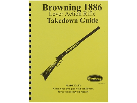 "Radocy Takedown Guide ""Browning 1886"""