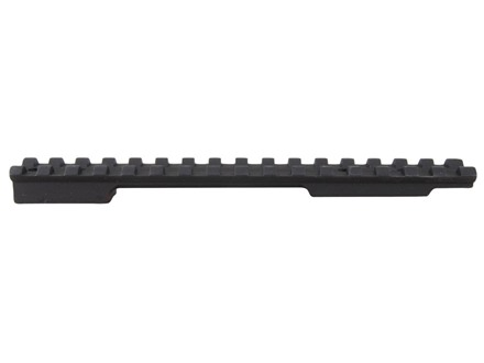 EGW 1-Piece Picatinny-Style 20 MOA Elevated Base Howa, Weatherby Vanguard Matte Short Action