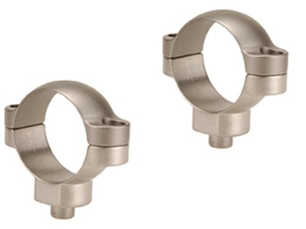 Leupold 30mm Quick Release Rings Silver High