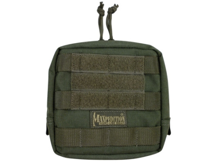 "Maxpedition Padded Pouch 6"" x 6"" Nylon Foliage Green"