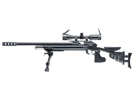 Hammerli CR20 S Air Rifle 177 Caliber Adjustable Stock Blued Barrel with Airgun Scope 3-9x44mm Matte