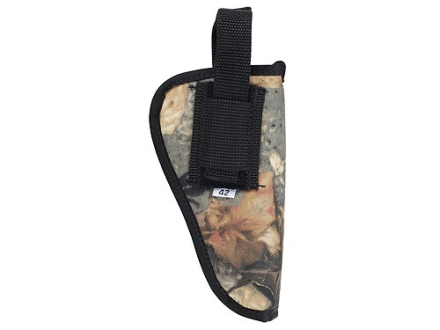 "Soft Armor Belt Holster Ambidextrous Taurus Judge 3"" Nylon Camo"