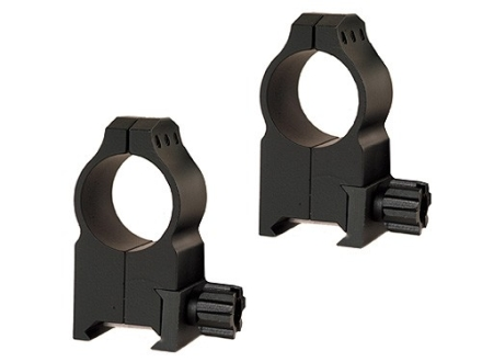"Warne 1"" Tactical Picatinny-Style Rings Matte Extra-High"