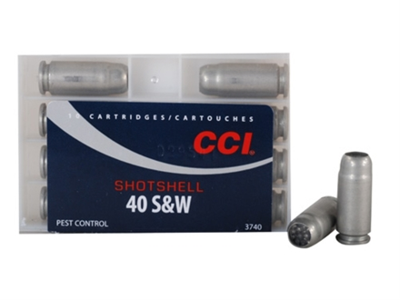 CCI Shotshell Ammunition 40 S&amp;W 88 Grains #9 Shot Box of 10