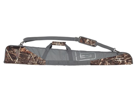 Banded Gear Pipe Floating Shotgun Case 52&quot; Polyester Realtree Max-4 Camo