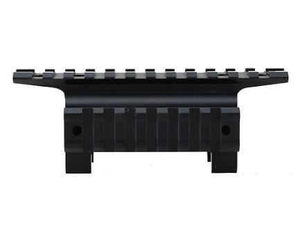 Leapers UTG New Generation Claw Mount with Dual Picatinny-Style Rails H&K Matte