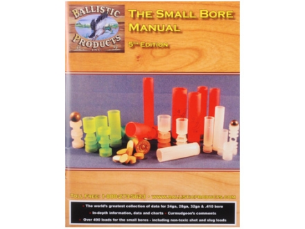 BPI &quot;The Small Bore Manual: 5th Edition&quot; Reloading Manual