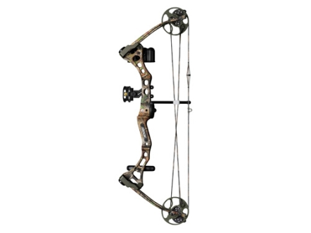 "Bear Apprentice 2 Compound Bow Package Right Hand 20-60 lb. 15""-27"" Draw Length Realtree APG Camo"