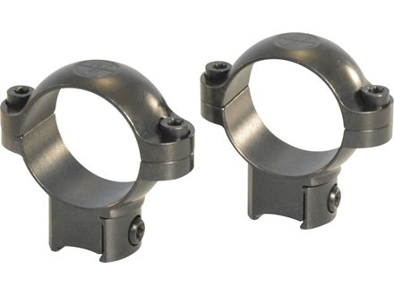 "Leupold 1"" Ring Mounts Rimfire 11mm Grooved Receiver Gloss Medium"