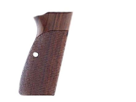 Hogue Fancy Hardwood Grips Browning Hi-Power Checkered Rosewood