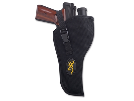 Browning Oversized Buck Mark Pistol Holster Right Hand Nylon Black