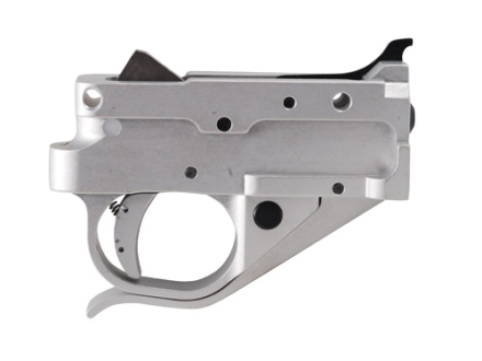 Timney Trigger Guard Assembly Ruger 10/22 2-3/4 lb Aluminum Silver with Silver Lower