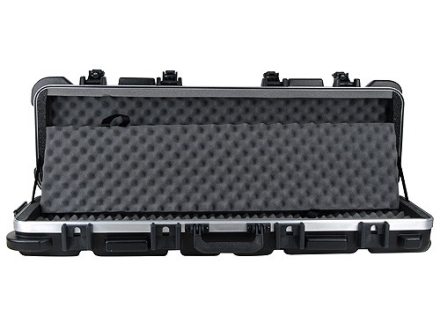 SKB Double Scoped Rifle Gun Case with Wheels for Firearms up to 40&quot; Polymer Black