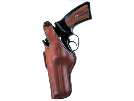 Bianchi 5BH Thumbsnap Holster Left Hand S&amp;W J-Frame 2&quot; Barrel Leather Tan