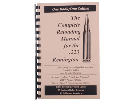 "Loadbooks USA ""223 Remington"" Reloading Manual"