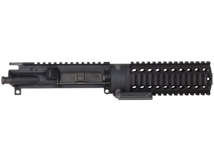 MGI Hydra Quick Change Barrel Monolithic Upper Receiver with Integral Quad Rail Free Float Tube Handguard Assembled AR-15 A3 Flat-Top Matte