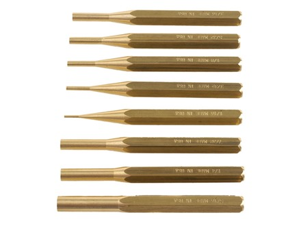 Grace USA Punch Set 8-Piece Brass