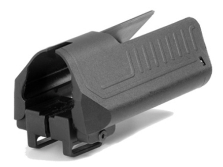 Command Arms Stock Saddle with Battery Compartment for AR-15 M4-Style Collapsible Stock Polymer